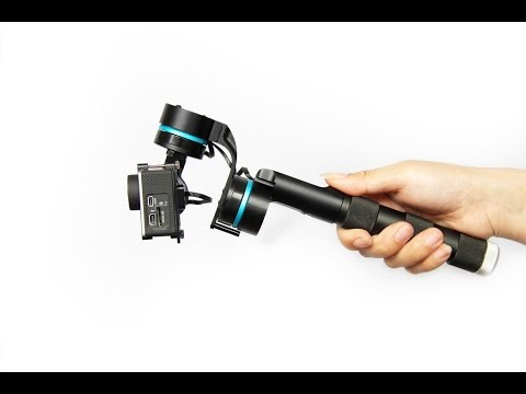 Amazing 3 Axis HandHeld Gimbal for GoPro Hero3/3  ( Hero2 ) Demo by Eye Of Mine Action Cameras