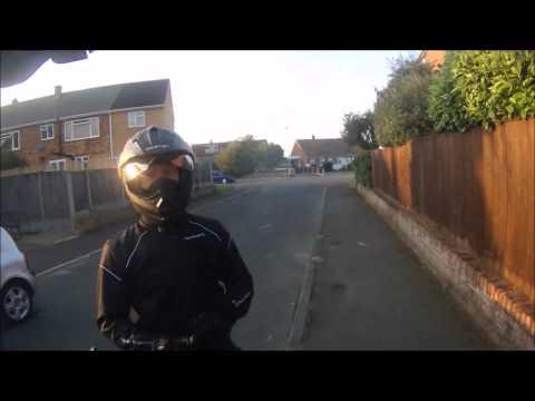 KTM Man takes exception to being overtaken