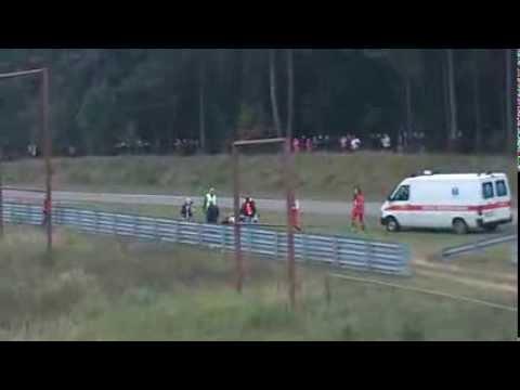 Avarija Kačerginės trasoje 2013-09-15