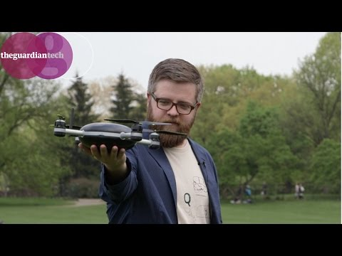 Drones: Testing the 'selfie drone' in Central Park | Guardian Tech