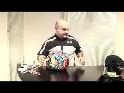 How to adjust a visor on an Arai helmet