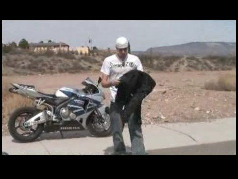 Motorcycle Riding Basics : Motorcycle Safety Gear