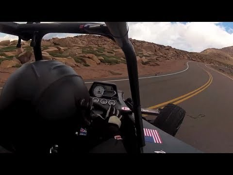 11 Minute Pikes Peak Run in a Polaris ATV!