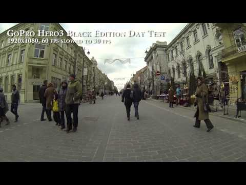 GoPro Hero3 Black Edition daytime mini test.