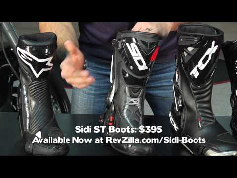 Motorcycle Race Boot Guide 2011 at RevZilla.com