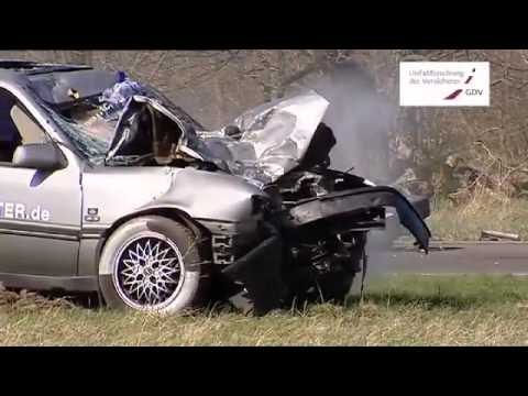 Opel Vectra A - Moto Crash Test