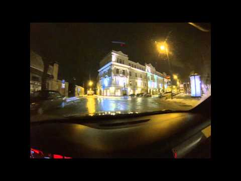 Vilnius by night TEST | GoPro Hero3 Black Edition