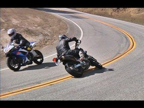 Supermoto Crash 1/29/2012