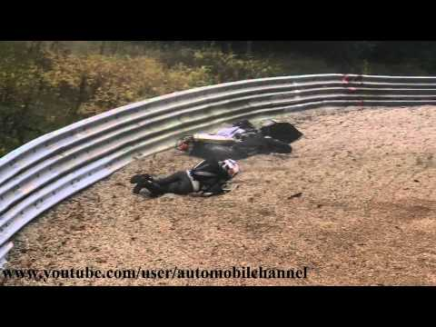 Motorrad Motorycle Crash Unfall Accident Chute Nordschleife 1.11.11 Nurburgring