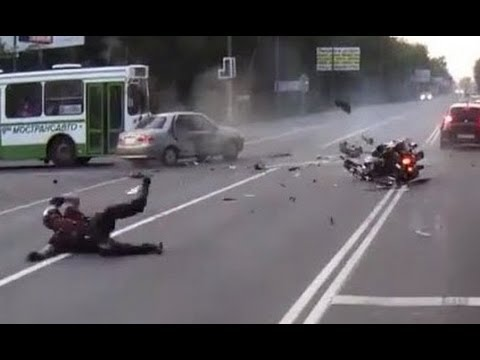 Motorcycle and Scooter Fail Compilation *NEW*