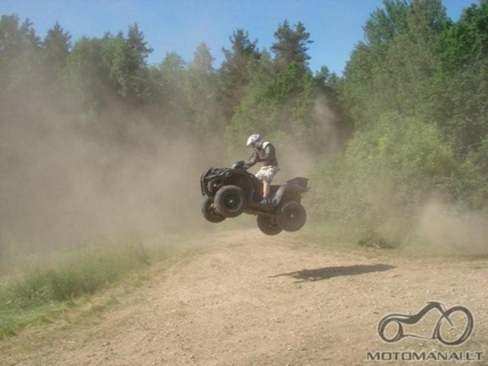 ATV ir Motocross trasos paruosimas(gamyba)