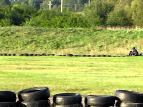 2011-09-05 Moto treniruotė Aukštadvario kartodrome - 1