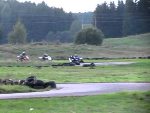 2011-08-29 Moto treniruotė Aukštadvario kartodrome - 1