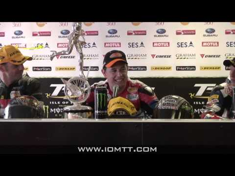 TT 2011 - Dainese Superbike Race - Press Conference