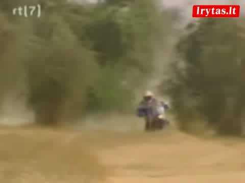 Gintautas Igaris Tuareg ralyje