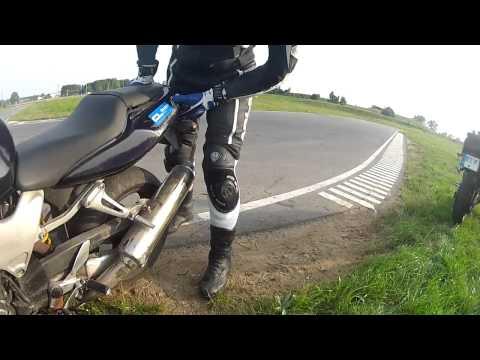 Honda VTR1000F Crash @ Aukštadvaris 2013/07/29