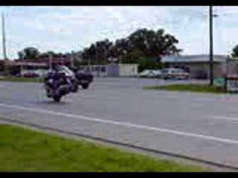 Honda Valkyrie Wheelie