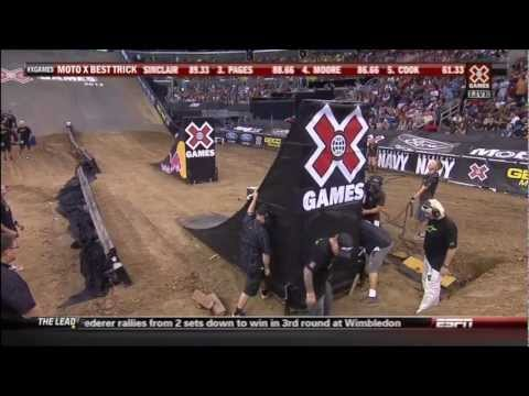 2012 X-Games 18 motocross best trick