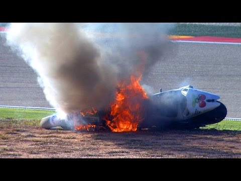 MotoGP™ Aragon 2014 – Biggest crashes