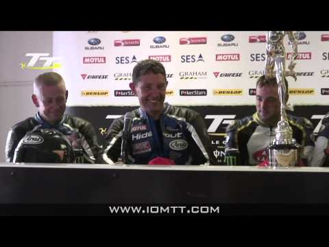 TT 2011 Sidecar Race 'A' - Press Conference