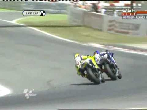 Rossi vs. Lorenzo -  Catalunya