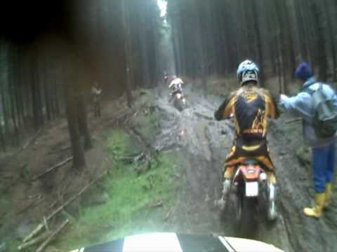 Enduro Rund um Zschopau 2009 Best of Helmet Camera -thekopfkino-