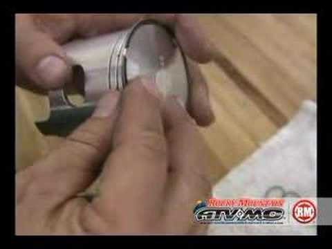 Top end piston and ring replacement