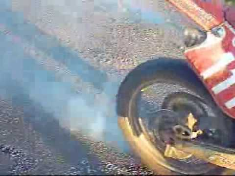 Motocross burnout