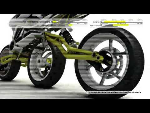 Rondinaud dizaino triratis motocikliukas :)