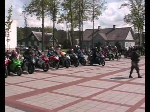 Ignalinos moto klubo 'Wild Fire MCC' sezono atidarymas 2009.05.09