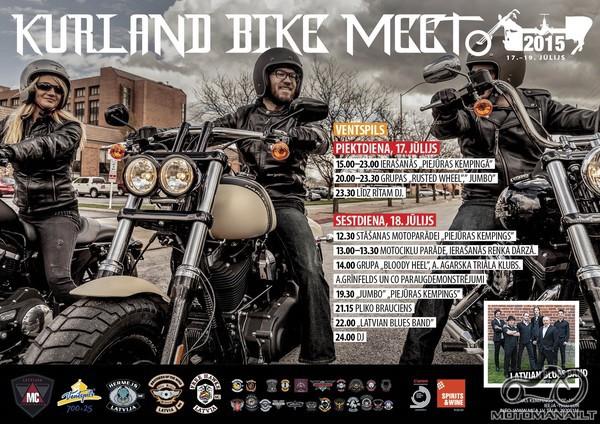 Kurland Bike Meet (Ventspilis) 2015.07.17-19