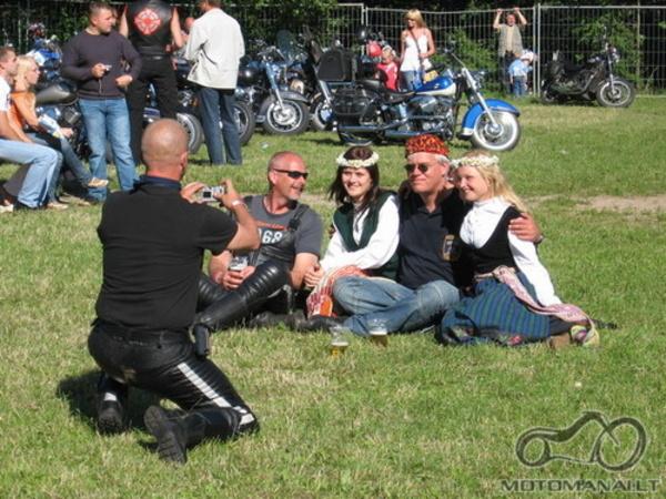 Mototurnyras'07 liepos 14 dieną Gargžduose