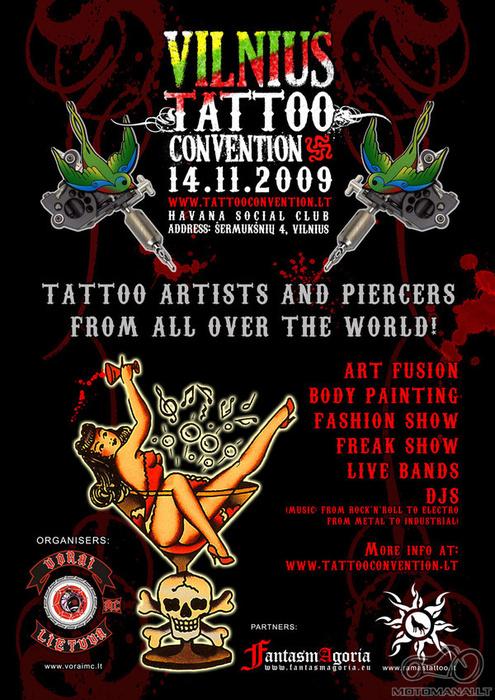 Tattoo convention Vilniuje