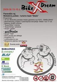 BikeXdream Panevėžyje 2009 08 15