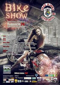 Bike Show Pakruojis 2010 plakatas