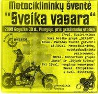 Motociklininkų šventė Sveika Vasara Gegužės 30 diena.