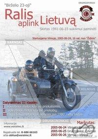 Ralis aplink Lietuvą