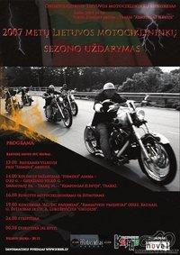 SEZONO UŽDARYMAS 2007!!!  Motomanai.lt renkasi 10.00 val. PUŠYNĖLYJE