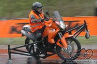 SUPERMOTO 2009.10.03-04 d.  profų/mėgėjų susibėgimas Aukštadvario kartodrome