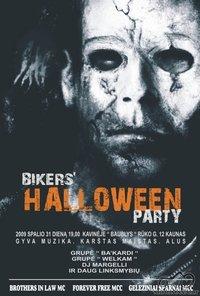 Spalio 31, Biker's Helloween Party ,Kaunas, kavinė Baublys