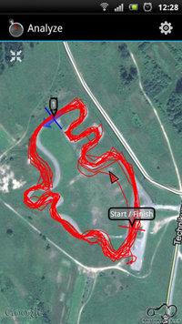 RaceChrono: Aukstadvaris - 2012 07 16