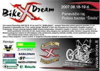 ''Iron X''  (Bike X dream)  Rugpjucio 18-19 d. Panevezyje