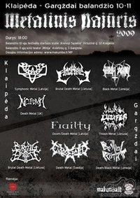"""""""Metalinis Pajūris 2009"""" - jau balandžio 10-11 dienomis"""