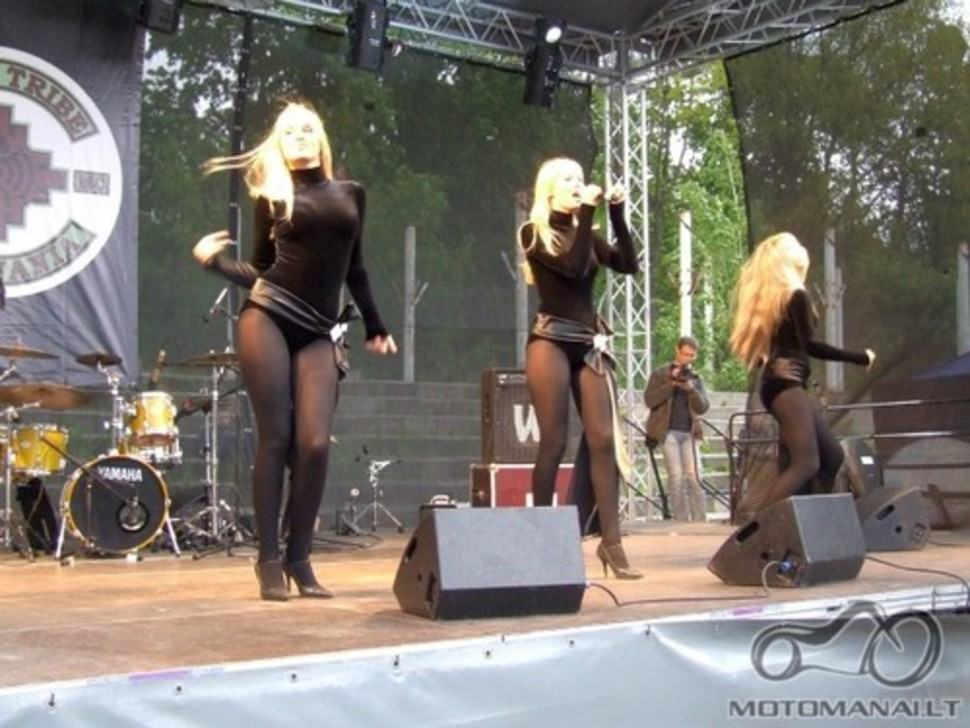 Baikerių šou Šiauliuose 2009.05.23
