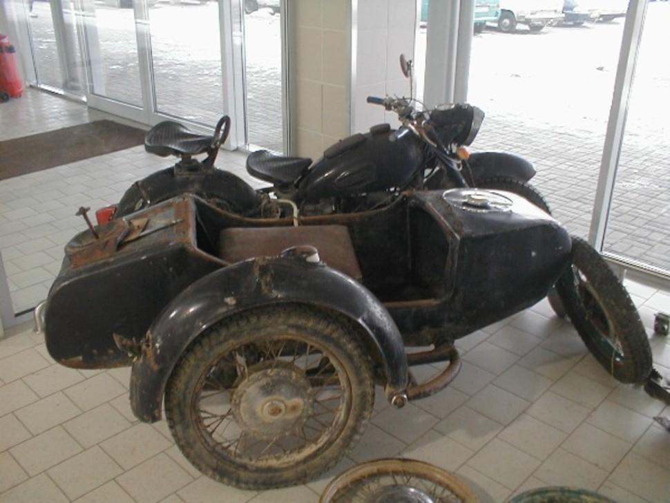 Paroda avangardiniai motociklai