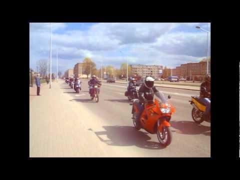 Moto sezono atidarymas Gargždai 2011