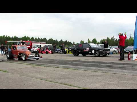 New Lithuanian 1/4 mile record | Autoplius drag days 2015