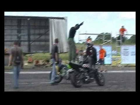 Part 2 of 2 Bike Show Millenium 2010   ( motorcycle stunt show )