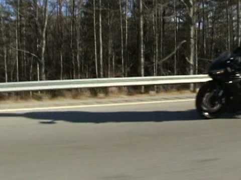 turbo mustang vs R6 60-130mph  2 , sharpie