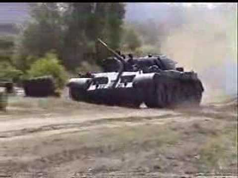 T-55 Tank extreme offroad
